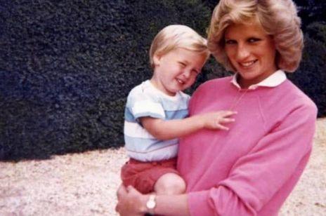Księżna Diana i książę William