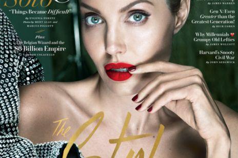 Angelina Jolie na okładce Vanity Fair