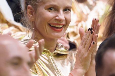 Magdalena Cielecka na festiwalu filmowym w Gdyni 2017