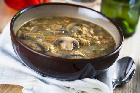 Domowa zupa grzybowa