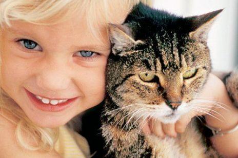 Dzieci i zwierzęta w domu