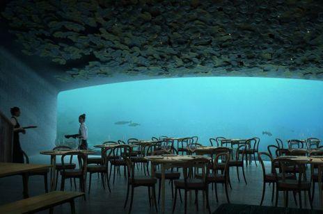 """Restauracja """"Under"""" powstanie pod wodą"""