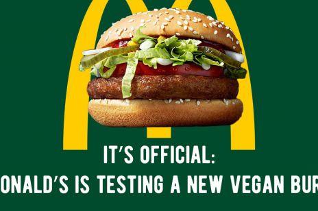 McVegan wegański burger w McDonald's