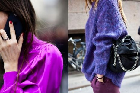 Ultra Violet kolorem na wiosnę 2018: jak go nosić?
