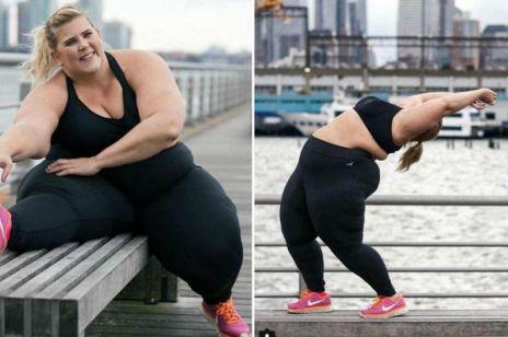 Afera o modelkę plus size reklamującą sportowe ubrania! Krytykować czy dopingować?