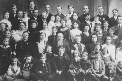 Fiodorowa Wasiljewa z rodziną