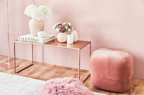 Millennial Pink. Kolor, który odmieni Twoje wnętrze