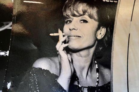 Krystyna Janda na zdjęciu z młodości