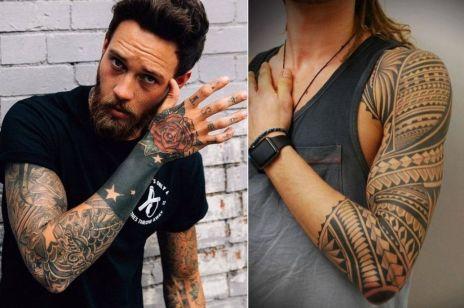 Najlepsze MĘSKIE tatuaże - 22 wzory, od których nie oderwiesz wzroku