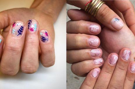 """""""Z pazurem"""": kwiatowe wzorki na paznokcie [WIDEO]"""