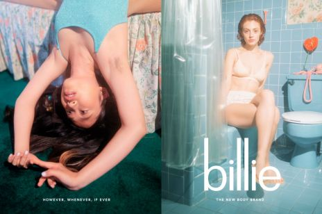Kampania maszynek do golenia Billie