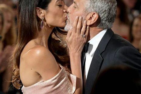 Piękny gest Amal Clooney dla męża: George wzruszony!