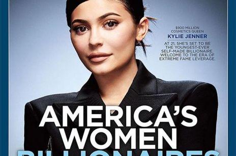 Kylie Jenner na okładce Forbes'a
