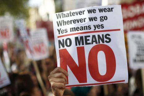 """""""No means no"""". Marsz poparcia dla ofiar przemocy seksualnej"""