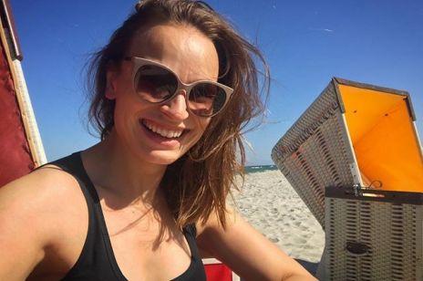 Ania Starmach w ciąży pokazała się bez makijażu: jak wygląda?