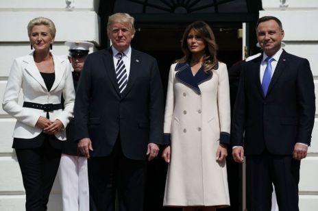 Agata Duda w USA: pierwsza dama wyglądała lepiej niż Melania Trump