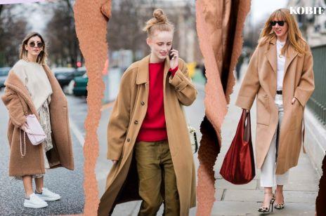 Płaszcze zimowe trendy moda 2018