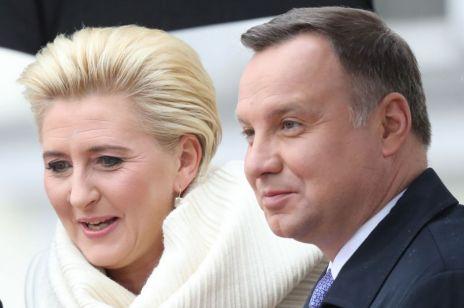 Agata Duda w Berlinie zachwyciła: jeszcze nigdy nie widziałyśmy jej w takiej stylizacji