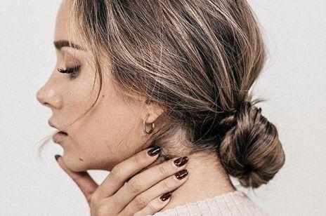 Proste upięcia dla długich i krótkich włosów