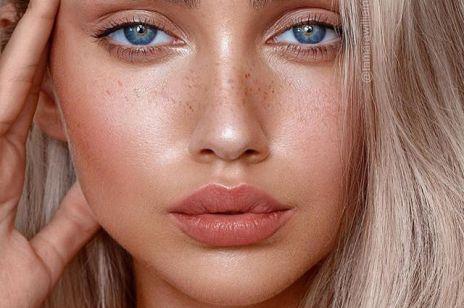 Makijaż na Sylwestra: brokatowe brwi
