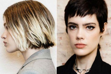 Krótkie fryzury na wiosnę - najmodniejsze cięcia