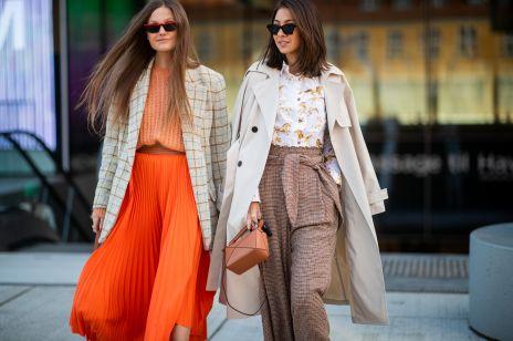 Trendy moda wiosna 2019: płaszcze wiosenne