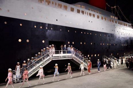 Pokaz Chanel Cruise na statku La Pausa: przepiękny!