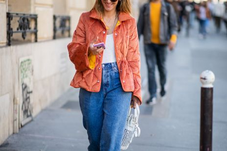 Jeans na wiosnę 2019: moda uliczna wiosna 2019