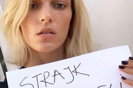 Anja Rubik poparła strajk nauczycieli: reakcje Internautów pod wpisem szokują