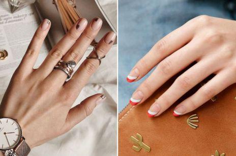 Blank space nails - modny manicure, który zajmie tylko chwilę