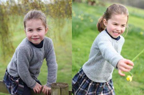 Księżniczka Charlotte kończy 4 lata. Jej nowe zdjęcia są urocze!
