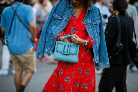 Sukienki w kwiaty moda trendy lato 2019