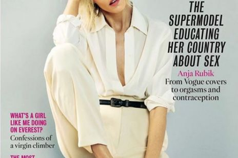"""Anja Rubik na okładce """"The Times Magazine"""". Modelka mówi o braku edukacji seksualnej w Polsce"""
