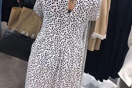 Sukienka z Zary w grochy  jest hitem Instagrama