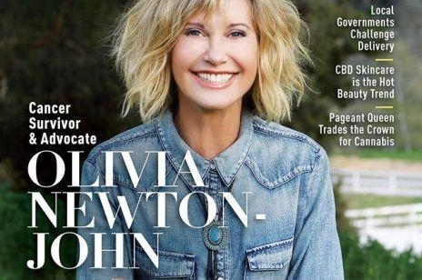 """Gwiazda """"Grease"""" Olivia Newton John po raz trzeci walczy z rakiem piersi"""
