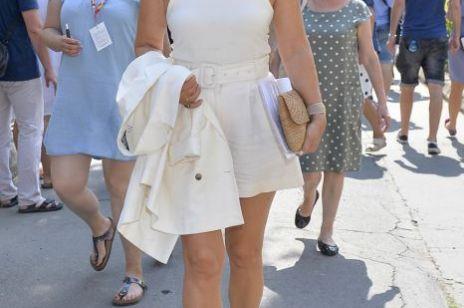 Grażyna Torbicka pokazała nogi: stylizacja budzi kontrowersje