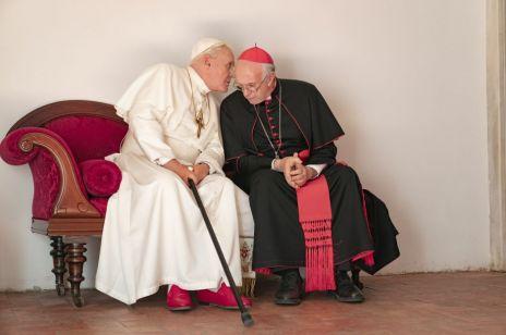 """Anthony Hopkins i Jonathan Pryce w filmie """"Dwóch papieży"""". Mamy zwiastun!"""
