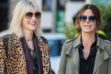 "Sandra Bullock i Cate Blanchett w filmie ""Ocean's 8"""