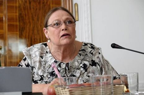 """Krystyna Pawłowicz o filmie """"Polityka"""": """"Panie Patryku, no i co? Wszyscy mówią, że chała"""""""