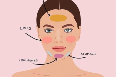 Mapa twarzy – co o naszym zdrowiu mówią wypryski i inne niedoskonałości?