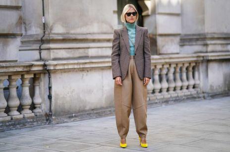 Trendy moda jesień 2019: slouchy czyli najmodniejsze spodnie sezonu