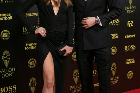 Anna Lewandowska w pięknej czarnej sukni