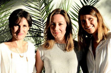 Anne-Sophie, Pauline, Anne-Laure