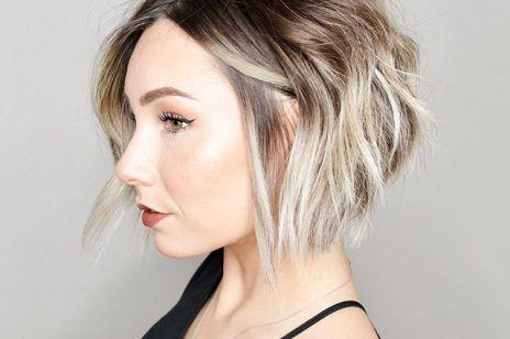 Najlepsze krótkie fryzury dla grubych i mocnych włosów