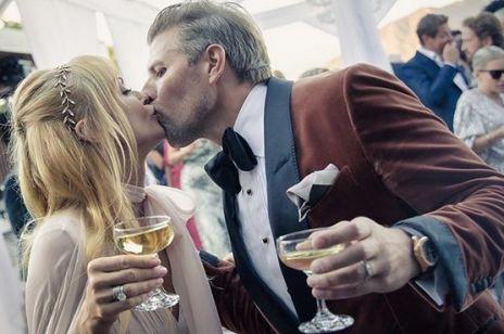 Izabella Scorupco - zdjęcia ze ślubu