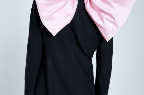 Sukienka z kokardą Zara; 449 zł Sukienki na Sylwestra z sieciówki 2019
