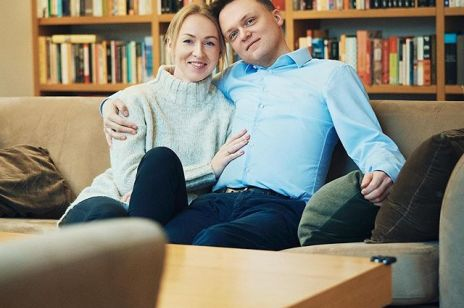 Szymon Hołownia i Urszula Brzezińska- Hołownia
