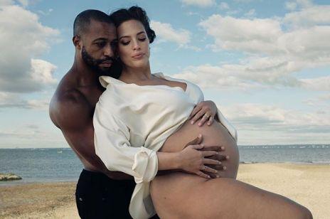 Ashley Graham pokazała nagie zdjęcia w ciąży - fanki są zachwycone