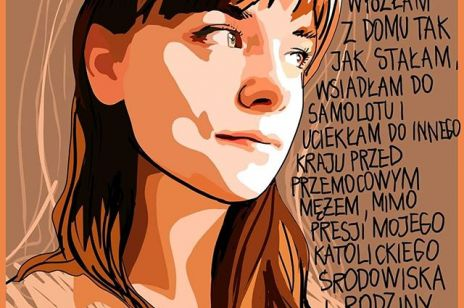 Ilustracje Marty Frej o przemocy domowej