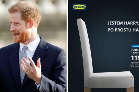 IKEA w punkt pokazała, co dzieje się na brytyjskim dworze: genialna reklama z Harrym w roli głównej